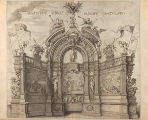 Boog voor de verwelkoming (Pompa Introitus Ferdinandi)