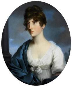 Portret van Henriëtte Wilhelmina Friedrike Freiin von der Goltz (1773-1804)