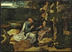 De HH. Paulus en Antonius als kluizenaars