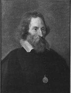 Portret van Erikijus Puteanus (Eerryk, Erik of Hendrik De Putte) (1574-1646)