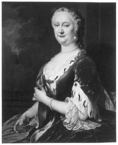 Portret van Clara Hillegonda van Collen (1705-1772)