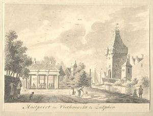 Zutphen, de Mastpoort en de Vismarkt