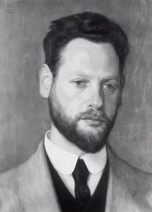 Portret van Michiel de Klerk (1884-1923)