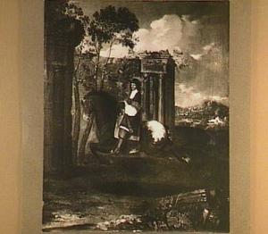 Ruiterportret van Lösse von Bölach