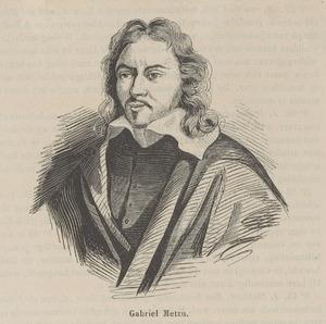 Portret van Gabriel Metsu (1629-1667)