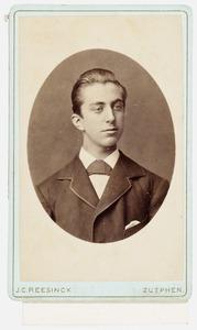 Portret van Arnold Ernst Frederik Alexander van Ittersum (1861-1925)