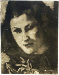 Portret van een vrouw (Didi Funke?)