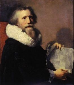 Zelfportret van Paulus Moreelse (1571-1638)