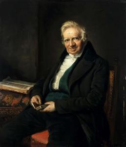 Portret van een man, waarschijnlijk Matthijs Eliza Verstege (1764-1847)