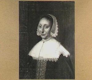 Portret van een vrouw, mogelijk  Maria de Bye (ca. 1601-1652), echtgenote van mr. Gerrit Meerman