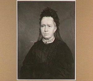 Portret van Mw. Joh. Hendriks-van Zoest (1826-1911), moeder van de schilder