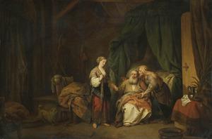 Sarai [Sara] brengt Hagar tot Abram [Abraham] (Genesis 16:3-4)
