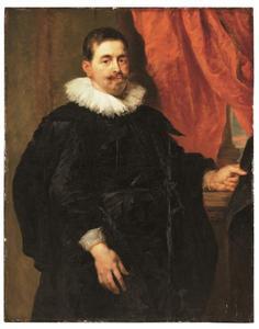 Portret van Peter van Hecke (1591-1645)