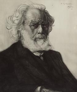 Portret van Adriaan Jacob Domela Nieuwenhuis (1850-1935)