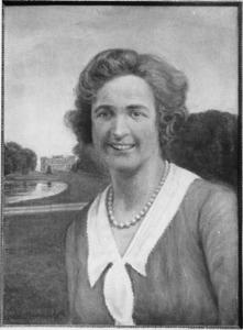 Portret van Marguerite Christine van Heeckeren van Enghuizen (1878-1938)