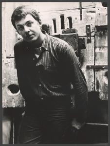Portret van Mark Brusse, Chantilly 1961