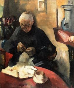 Portret van Maria Joanna van Kalken (?-1931)