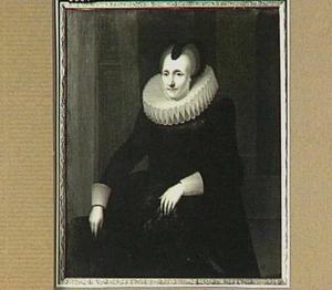 Portret van Cornelia van Hoogeveen (1570-?)