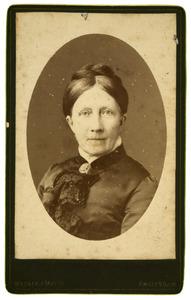 Portret van Geertruida Dorothea Toussaint (1826-1899)