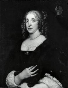 Portret van Maria van Leeuwen (1625-1669)