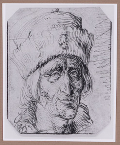 Portret van een man met bonnet