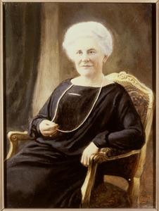 Portret van Constantia Louise van der Muelen (1863-1935)