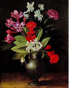 Boeket van bloemen in een vaas