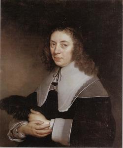 Portret van Dorothea Berck (1593-1684)