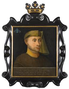 Portret van Wybe Sjoerdszn. Sirtema van Grovestins ( -1482)