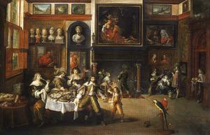 Gastmaal in het huis van Nicolaas Rockox, burgemeester van Antwerpen