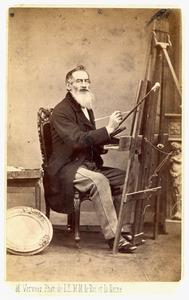 Portret van Frederik Assueer Maria Joseph van Voorst tot Voorst (1837-1883)