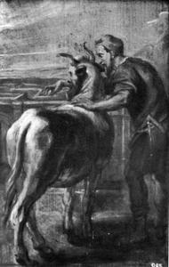 Daedalus en het labyrinth (Ovidius, Metamorfosen, VIII, 152-168)