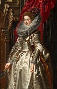 Portret van marchesa Brigida Spinola Doria (1584-?)