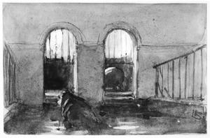 Interieur nijlpaardenverblijf Artis