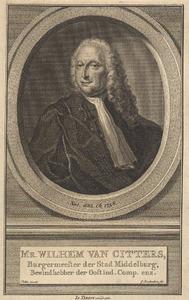 Portret van Willem van Citters (1685-1758)