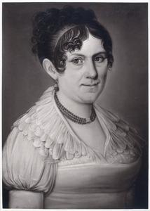 Portret van Francisca Adriana Clara van der Veecken (1779-1853)