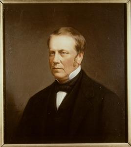 Portret van Hendrik Maurits van Weede (1817-1866)