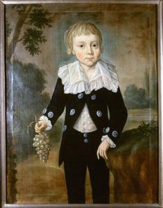 Portret van Arnold Albert Willem van Wulfften (1786-1812)