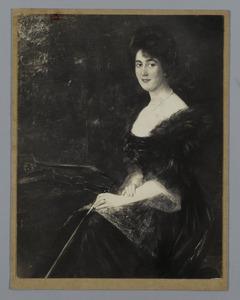 Portret van een dame met viool