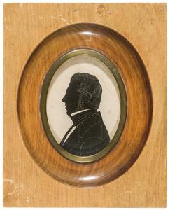 Portret van Henrik Pennink (1800-1877)