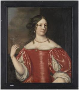 Portret van Susanna Barbara van Cammingha (1639-1727)