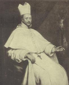 Portret van N. van Couwerven, abt van St.-Michiels