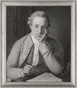 Portret van Willem Carel Dierkens (1752-1778)