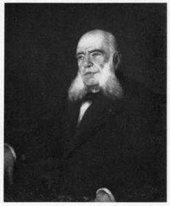 Portret van Willem van der Vliet (1820-1902)