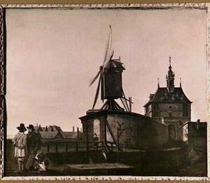 De oude Oostpoort te Rotterdam