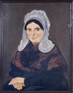 Portret van Seraphina de Kort (1804- )