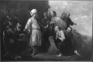 Jozefs beker wordt gevonden in Benjamins graanzak (Genesis 44:12)