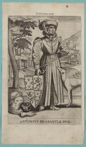 Portret van Antoon van Bourgondie (1384-1415)