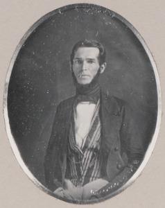 Portret van een man, mogelijk Theodorus Nicolaas van Boetzelaer (1807-1850)
