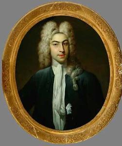 Portret van Dammas Akersloot (1699 -1739)